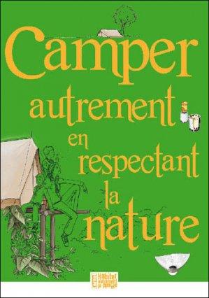 Camper autrement en respectant la nature - presses idf - 9782708881259 -