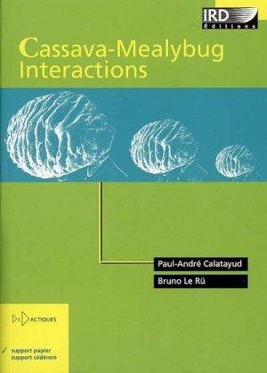 Cassava-Mealybug interactions - ird - 9782709916141 -