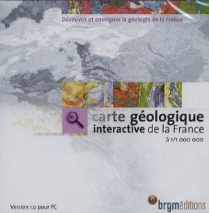 Carte géologique interactive de la France à 1/1 000 000 - brgm - 9782715909823 -