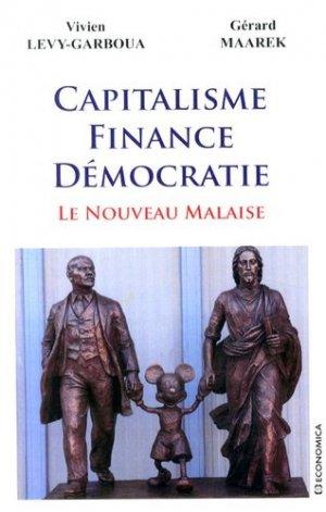 Capitalisme, finance, démocratie - Economica - 9782717866698 -