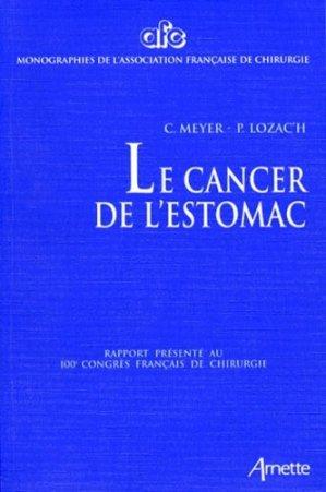 Cancer de l'estomac - arnette - 9782718409245 -