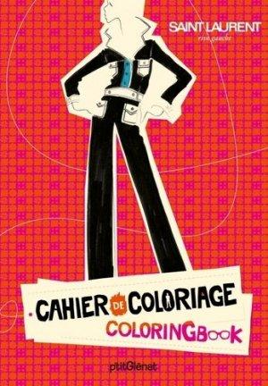Cahier de coloriage. Prêt-à-porter, prêt à colorier, Edition bilingue français-anglais - Glénat - 9782723484169 -