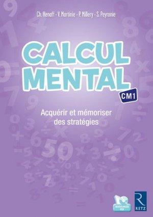 Calcul mental CM1 - Retz - 9782725635446 -