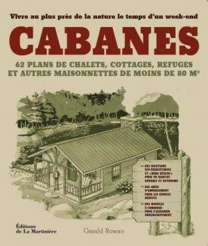 Cabanes - de la martiniere - 9782732452616 -