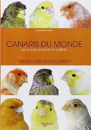 Canaris du monde - de vecchi - 9782732892412 -