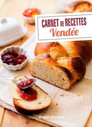 Carnet de recettes de vendée - Ouest-France - 9782737372803 -