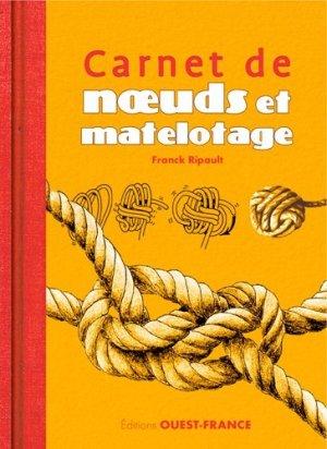Carnet de noeuds et matelotage - ouest-france - 9782737377839 -