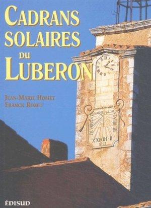 Cadrans solaires du Luberon - edisud - 9782744903953 -