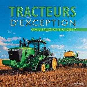 Calendrier mural tracteurs 2017 - hugo image - 9782755624694 -