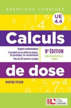 Calculs de dose UE 4.4 - lamarre - 9782757310793