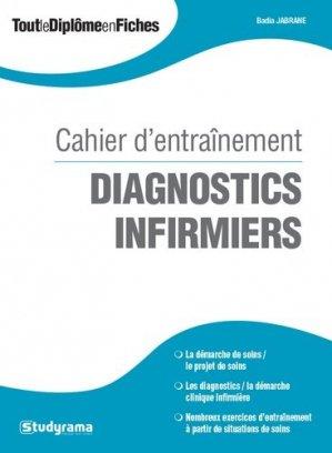 Cahier d'entrainement - Diagnostics infirmiers - studyrama - 9782759032785 -