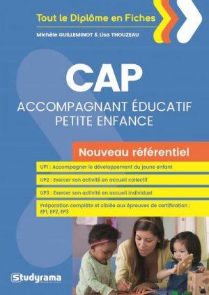 CAP Accompagnant éducatif petite enfance - Nouveau référentiel - studyrama - 9782759036219 -