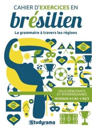 Cahier d'exercices en brésilien - Studyrama - 9782759041244 -