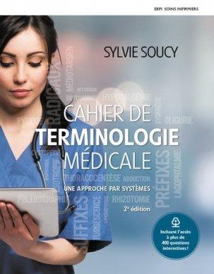 Cahier de terminologie médicale + cahier MONLAB - erpi  - 9782761385602 -
