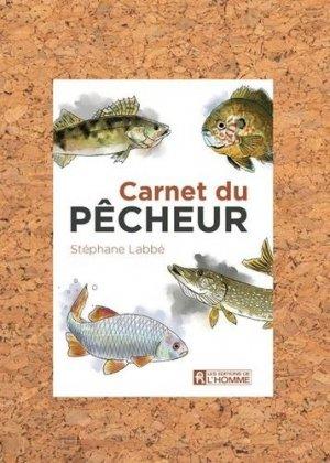 Carnet du pêcheur - de l'homme - 9782761955980 -