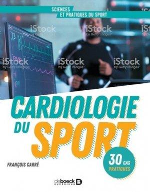 Cardiologie du sport - de boeck supérieur - 9782807321380 -