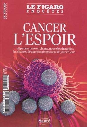 Cancer, l'espoir - le figaro - 9782810508624 -