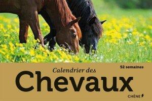 Calendrier des chevaux - du chene - 9782812306433 -