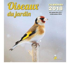 Calendrier oiseaux de jardin 2018-artemis-9782816011326