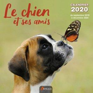 Calendrier Le chien et ses amis 2020 - artemis - 9782816015027 -