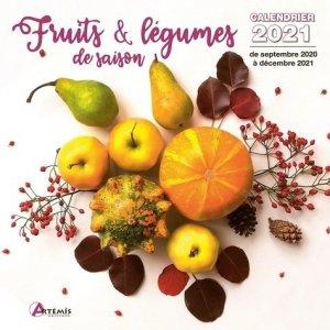 Calendrier Fruits et légumes de saison - artemis - 9782816017007 -