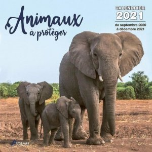 Calendrier Animaux à protéger - artemis - 9782816017205 -