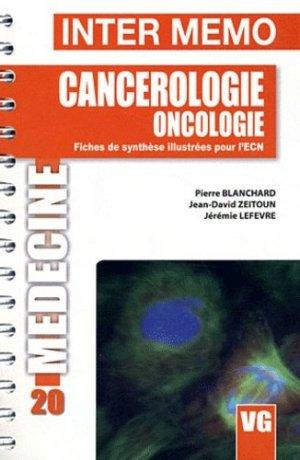 Cancerologie Oncologie - vernazobres grego - 9782818303924 -