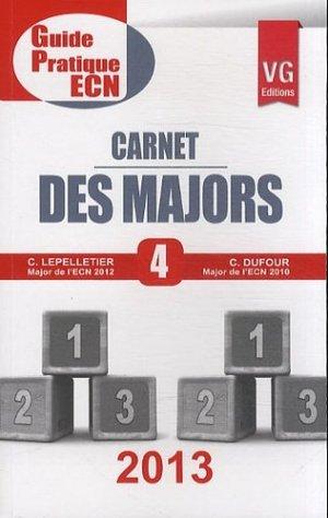 Carnet des Majors - vernazobres grego - 9782818307434 -