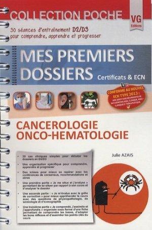 Cancérologie Onco-hématologie - vernazobres grego - 9782818309179 -