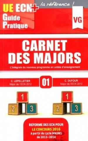 Carnet des majors - vernazobres grego - 9782818310069 -