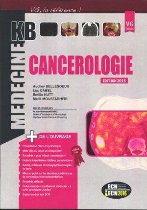 Cancérologie - vernazobres grego - 9782818312551