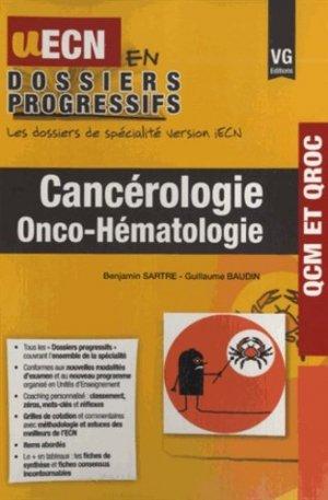 Cancérologie - vernazobres grego - 9782818312964 -