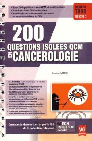 Cancérologie - vernazobres grego - 9782818313763 -
