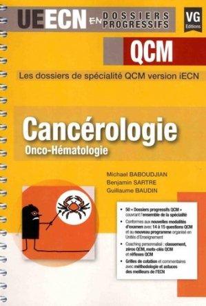Cancérologie Onco-hématologie - vernazobres grego - 9782818315675