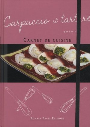 Carpaccio et tartare - Romain Pages - 9782843504051 -