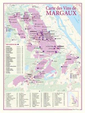 Carte des Vins de Margaux - benoit france  - 9782843542282 -