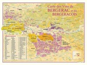 Carte des Vins de Bergerac et du Bergeracois - benoit france  - 9782843543043 -