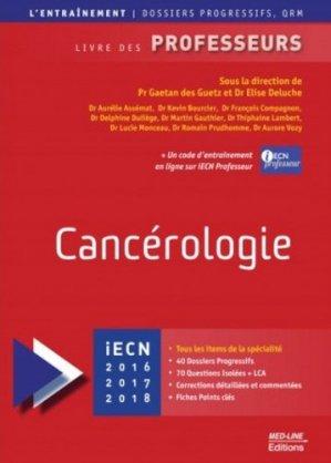 Cancérologie - med-line - 9782846781923 -