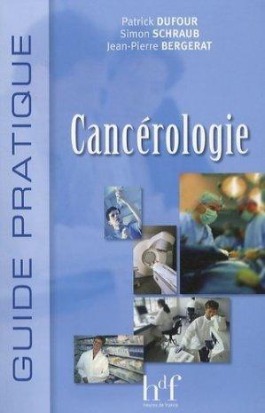 Cancérologie - heures de france - 9782853852920