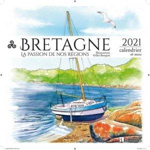 Calendrier Bretagne - Christine Bonneton - 9782862538310 -