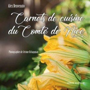 Carnets de cuisine du Comté de Nice - serre - 9782864106425 -