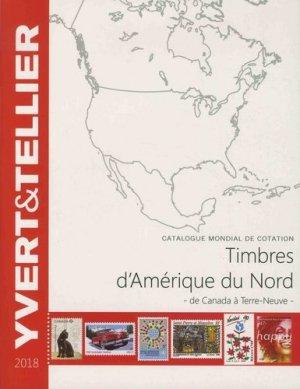 Catalogue de timbres-poste Amérique du Nord. De Canada à Terre-Neuve, Edition 2018 - Yvert and Tellier - 9782868142788 -