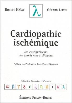 Cardiopathie ischémique - frison roche - 9782876714502 -