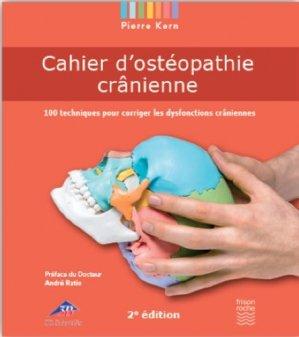 Cahier d'ostéopathie crânienne - frison roche - 9782876716131 -