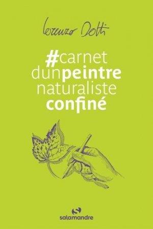 Carnet d'un peintre naturaliste confiné - la salamandre - 9782889584222 -