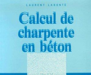 Calcul de charpente en beton - modulo (canada) - 9782891131155 -