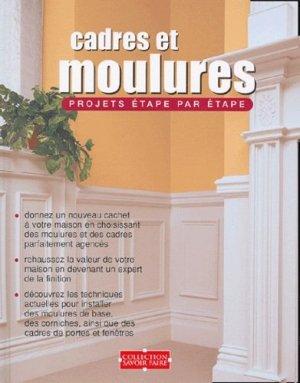 Cadres et moulures Projets étape par étape - modus vivendi (canada) - 9782895232285 -