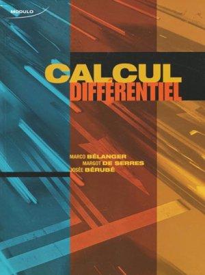 Calcul différentiel - modulo (canada) - 9782896503476 -
