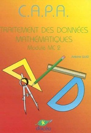 CAPA Mathématiques Manuel de Classe et Travaux Dirigés Module MG1 - doceo - 9782909662589 -