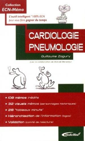 Cardiologie Pneumologie - medicilline - 9782915220445 -